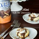 Mini Heath Bar Cheesecake