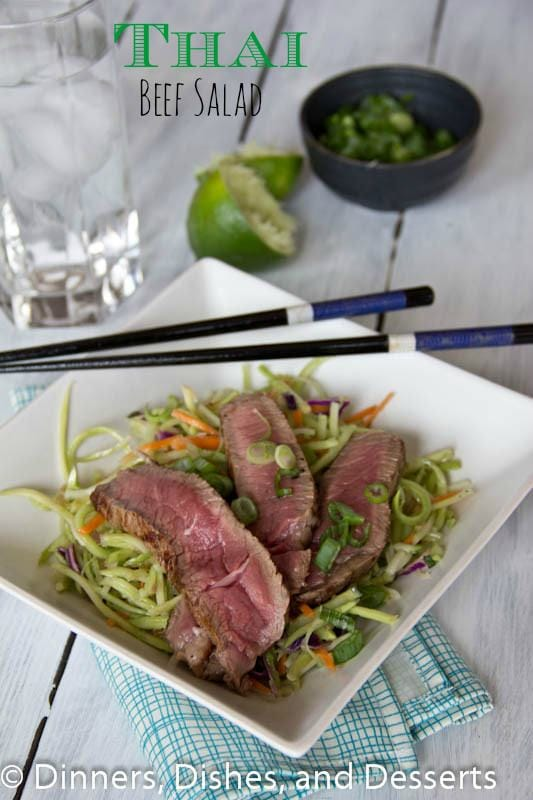 Thai Beef Salad | Dinners, Dishes, and Desserts
