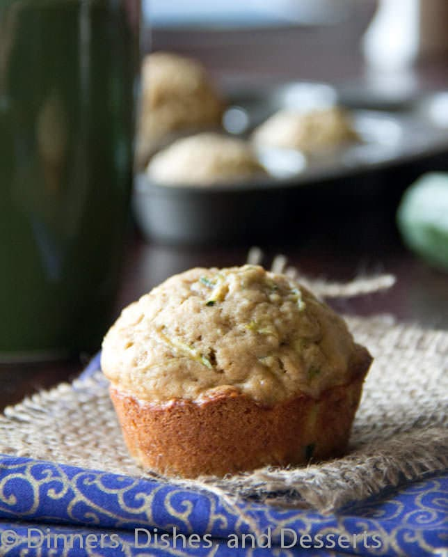 Zucchini Muffins #recipe | Dinners, Dishes, and Desserts