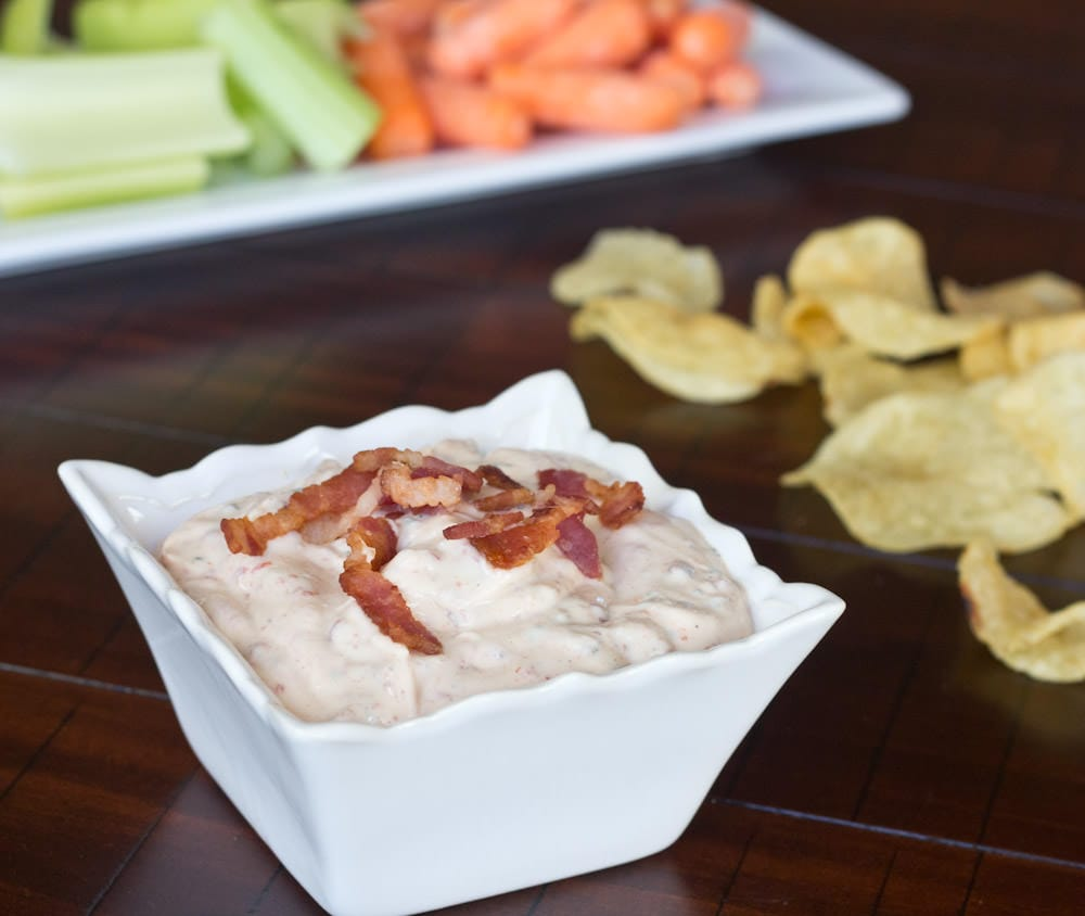 4th of July Chipotle Bacon Ranch Dip