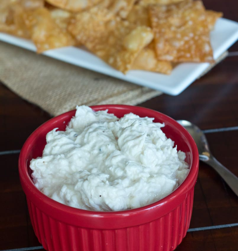4th of July Crab Rangoon Dip