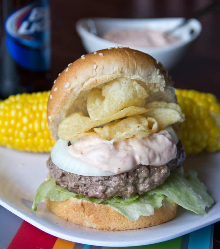 4th of July Crunchburger