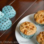 Whole Wheat Cinnamon Muffins #recipe