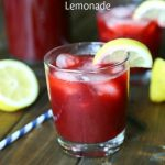 Spiked Blackberry Vanilla Lemonade