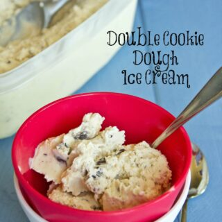 Double Cookie Dough Ice Cream