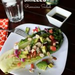 Grilled Romaine Salad #GrillWithPompeian