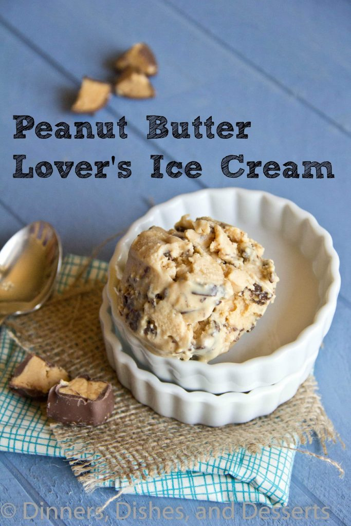Peanut Butter Lovers Ice Cream