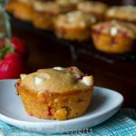 Strawberry White Chocolate Chip Muffins
