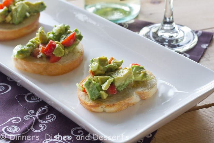 Avocado-Bruschetta