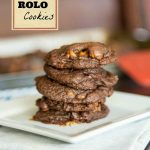 Chocolate Pudding Rolo Cookies #OXOGoodCookie