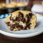 Banana Oatmeal Chocolate Chip Muffins (gluten-free)