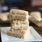 Pumpkin Cake Rice Krispie Treats