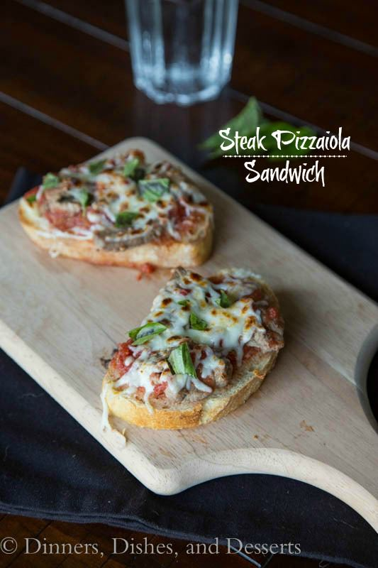 Steak Pizzaiola Sandwich
