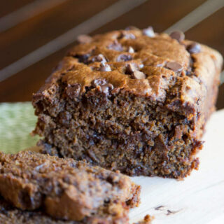 Chocolate Pumpkin Bread (12 Days of Giveaways)