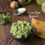Roasted Garlic Guacamole (12 Days of Christmas)