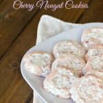 Cherry Nougat Cookies (12 Days of Giveaways)