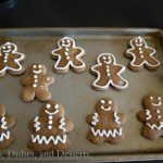 Gingerbread Men Cookies (12 Days of Giveaways) #ChristmasWeek #CakeBossBaking