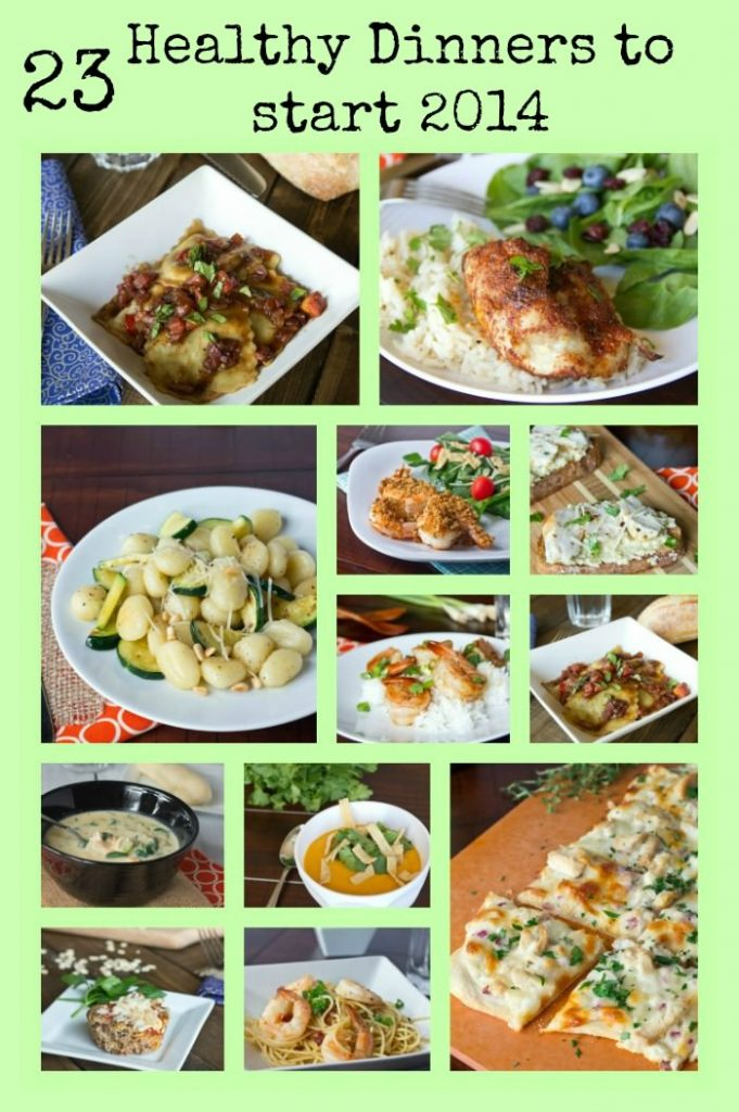 23 Healthy Dinners to Start 2014