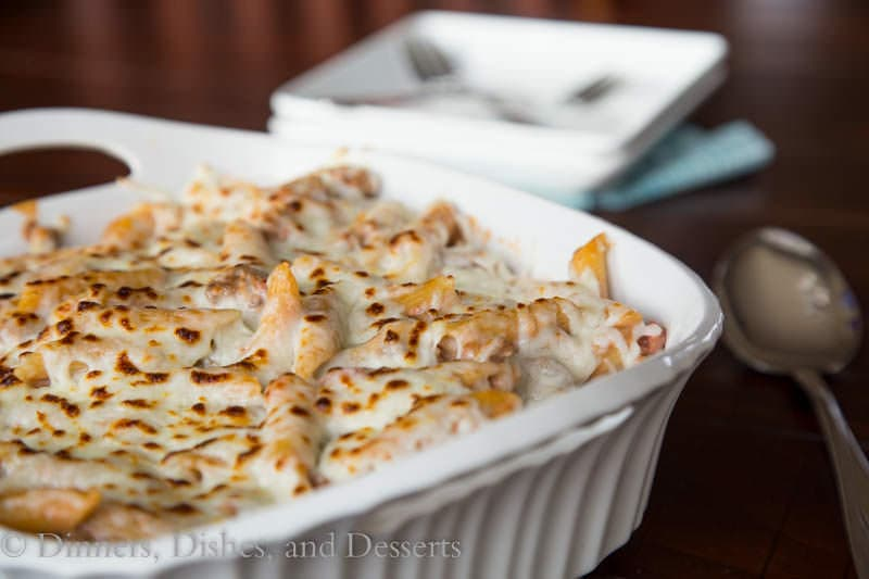 greek pastitisio casserole in a pan