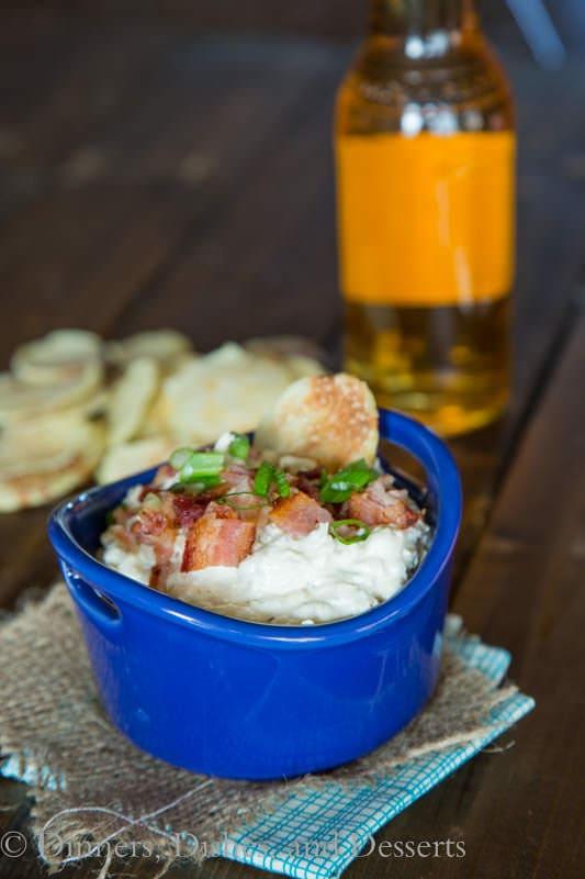 Roasted Shallot & Garlic Dip