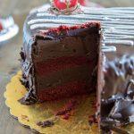 Valentine's Truffle Cake