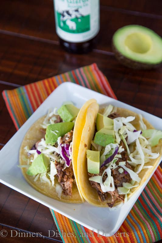 Slow Cooker Chipotle Beef Tacos