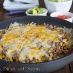 Hashbrown Enchilada Skillet #SimplyPotatoes