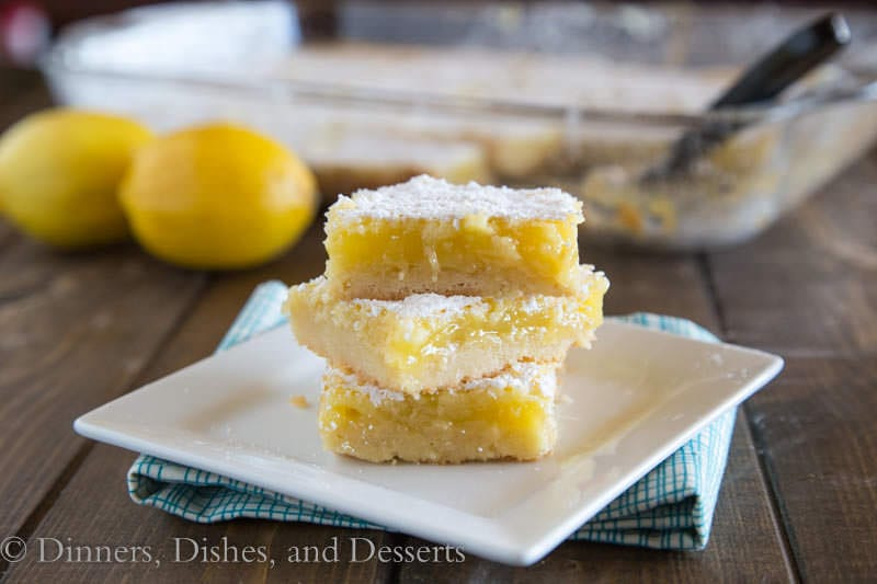 Creamy Lemon Bars are perfect for spring | Dinners, Dishes, and Desserts