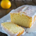 Grapefruit Yogurt Cake with Grapefruit Glaze