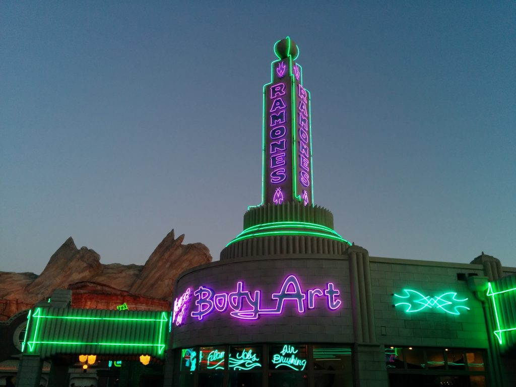Disney Land - Lights and night