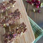 Pistachio Cranberry Energy Bars