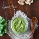 Spinach Pesto | Dinners, Dishes, and Desserts