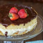 Boston Cream Pie {Dinners, Dishes and Desserts}