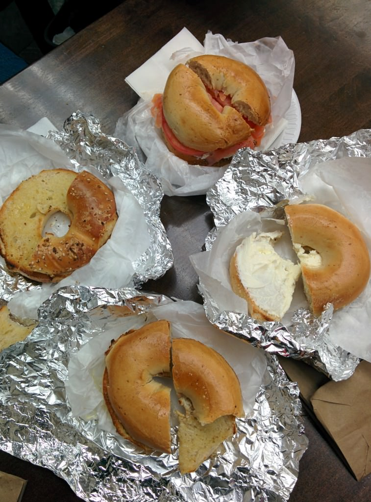 Bagels in New York City