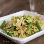Bowtie Pasta with Green Beans, Pesto, and Toasted Walnuts | Dinners, Dishes, & Desserts