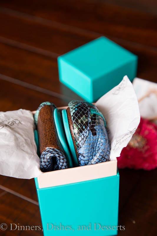 Tieks in a box