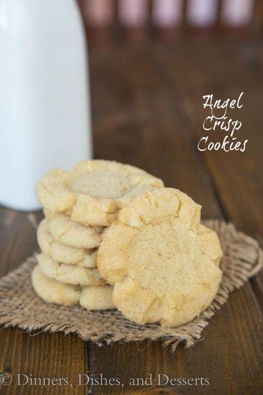 Angel Crisp Cookies - Cookies Grandma used to make!