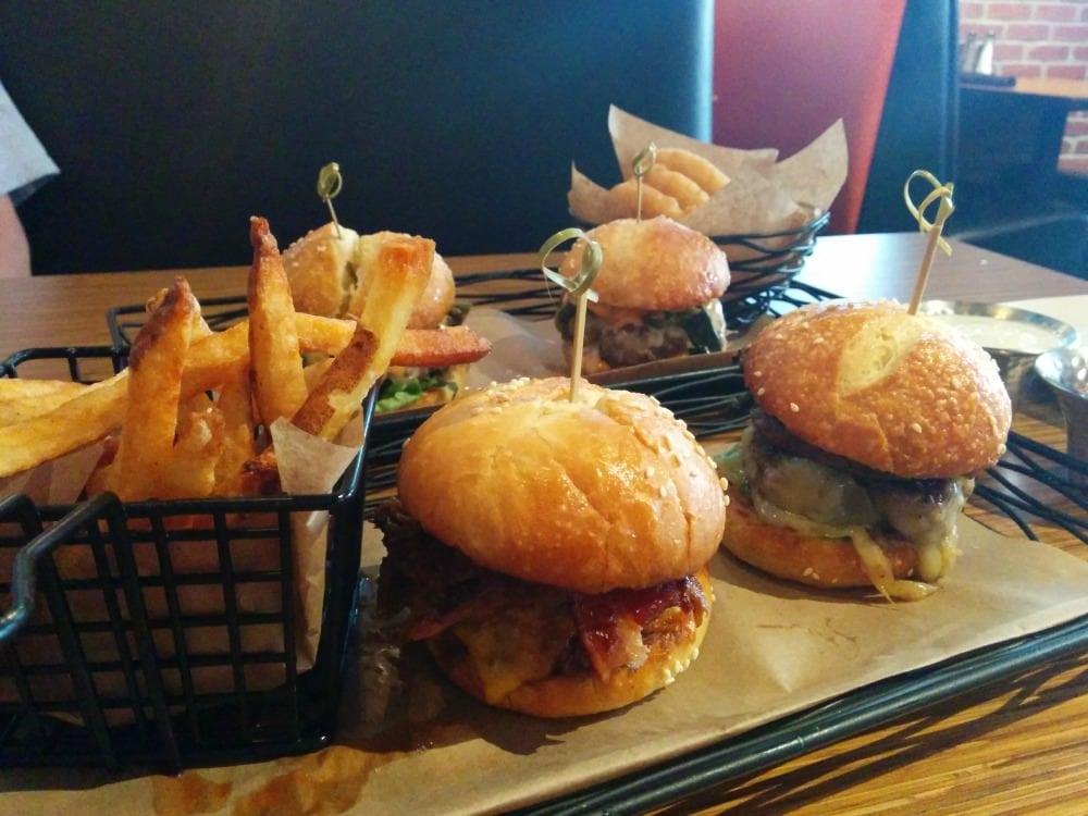 food from 5280 burger bar