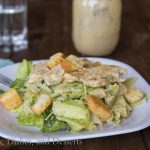 Chicken Caesar Salad - great summer dinner