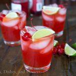 Cherry Limeade Margaritas