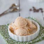 Chocolate Chip Caramel Swirl Ice Cream - a hint of chocolate with swirls of caramel and chocolate chips