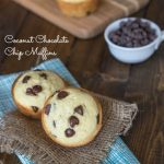Coconut Chocolate Chip Muffins {Dinners, Dishes, and Desserts}