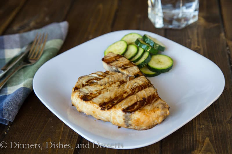 Soy-Ginger Marinated Swordfish