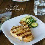 Soy-Ginger Marinated Grilled Swordfish