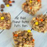 No Bake Peanut Butter Puffs Bars #biggcerealmovies