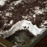 No Bake Oreo Cream Squares