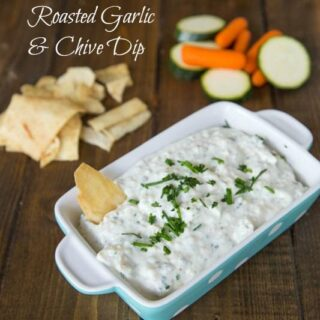 Roasted Garlic & Chive Dip