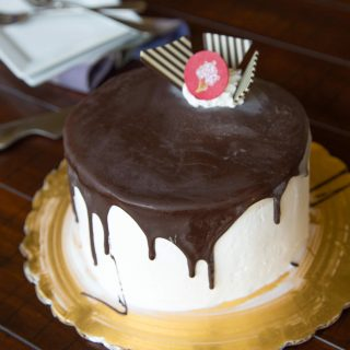 Tall, Dark & Delicious - perfect ice cream cake for Father's Day