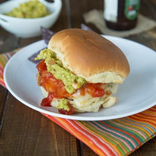 Chicken Taco Burgers #BurgerMonth