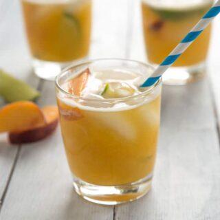 Bourbon Peach Limeade